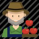farmer, gardener, man, occupation, profession