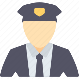deputy, guard, officer, policeman, protection, safety, security icon