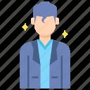 actor, man, professions icon