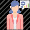 consultant, female, professions, woman