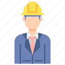 engineer, male, professions icon