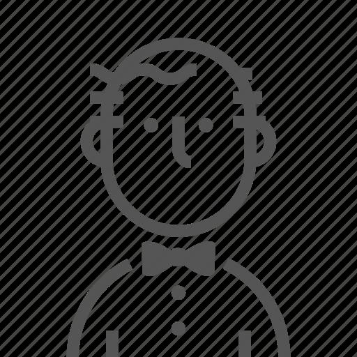 Attendant, garcon, member, servant, staff, waiter, waiting icon - Download on Iconfinder