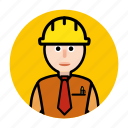 building, construction, estate, worker icon