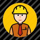 construction, worker, building, estate