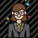 consultant, female, professions