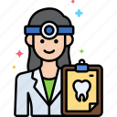 dentist, female, professions, woman