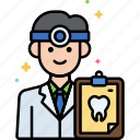 dentist, male, man, professions