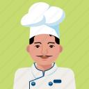 chef, man, avatar, person, profile, user