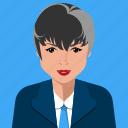 correspondent, reporter, user, avatar, person, woman