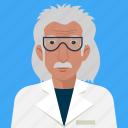 academic, scientist, user, avatar, man, person