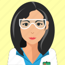 assistant, avatar, doctor, person, profile, user, woman icon