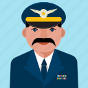 aviation, user, avatar, man, person, profile