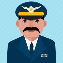 avatar, aviation, man, person, profile, user icon