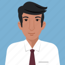 avatar, businessman, man, person, profile, user icon