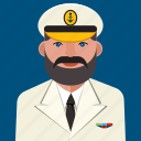 avatar, capiatan, man, profile, sea, user icon