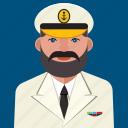 avatar, capiatan, man, profile, sea, user icon