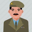 military, user, avatar, man, person