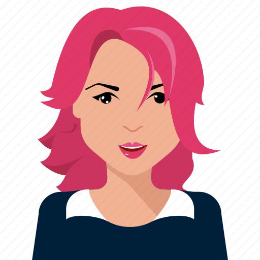 avatar, person, user, woman icon
