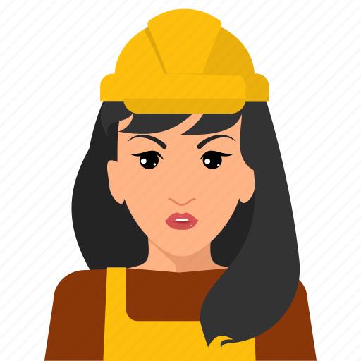 avatar, construction, person, profile, user, worker icon
