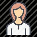 people, profile, user, account, woman, girl, female