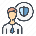 profile, user, account, shield, safety, protection, security