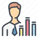 profile, user, account, stats, statistics, analytics, report