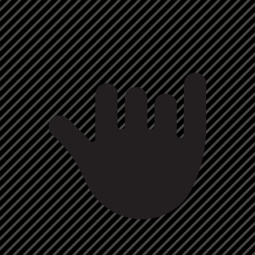 good luck, hand, hand icon, hang loose, pinky, shaka icon