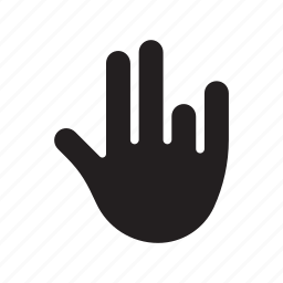 hand, pinky, shocker, shocker gesture, stinky, thumb icon