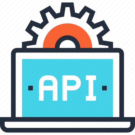 api, app, coding, computer, development, settings, software icon
