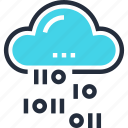cloud, code, computing, hosting, internet, network, services icon