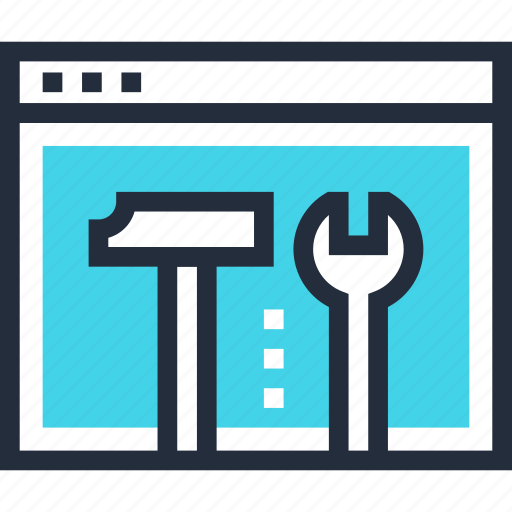 configure, options, preferences, repair, settings, tools, web icon
