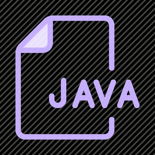 coding, files, java, programming, scripting icon