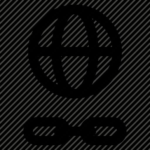 development, link, network, programing, url, web icon