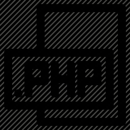 format, language, php, programing icon