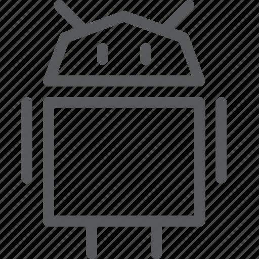 android, coding, logo, machine, mechanical, programming, robot icon