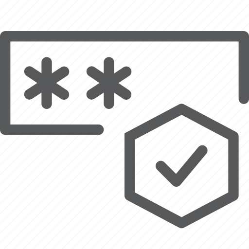 approved, box, check, coding, done, login, programming icon