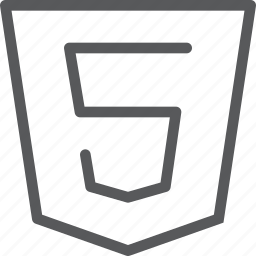 coding, extension, html, programming, protection, safety, shield icon