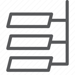 algorithm, chart, code, coding, flow, flowchart, programming icon