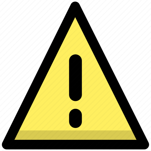 alarm, alert, caution, error, notification, warning icon