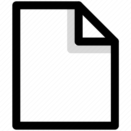 document, documents, file, new, page icon