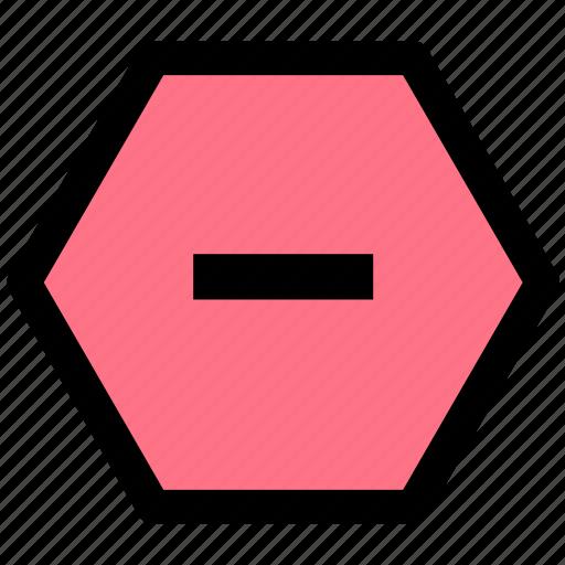 cancel, stop, termination icon