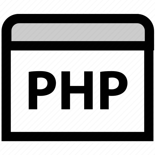 code, coding, development, php, php code, programming icon
