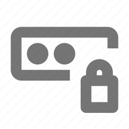 lock, login, security icon