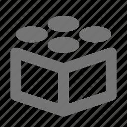 code, identification, language, modules, programming, settings icon