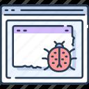 bug, computer, develop, development, fix, programming icon
