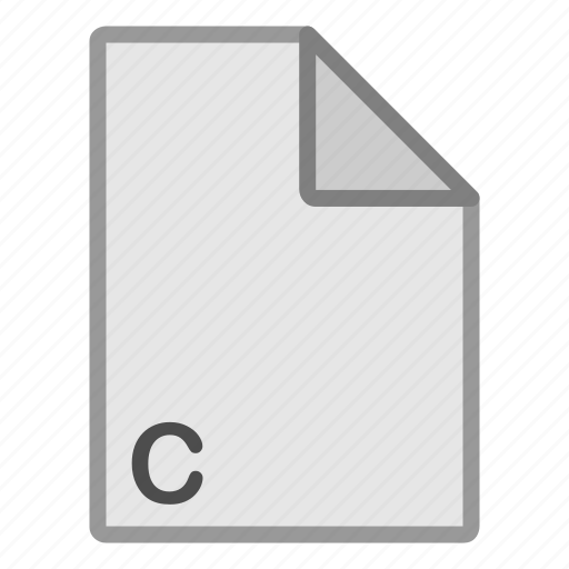 c, extension, file, format, hovytech, programming, type icon