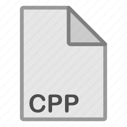 cpp, extension, file, format, hovytech, programming, type icon