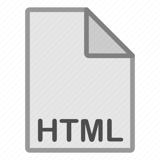 extension, file, format, hovytech, html, programming, type icon