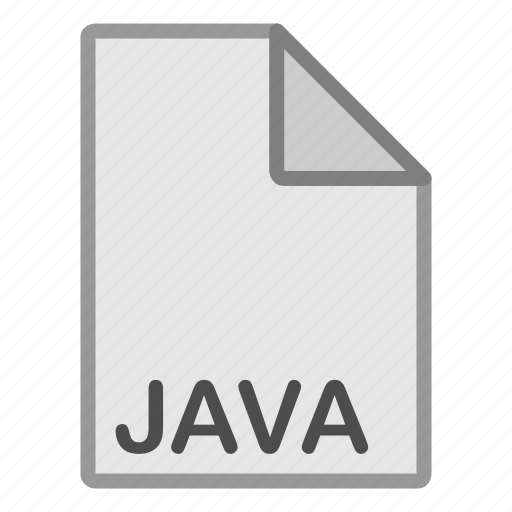 extension, file, format, hovytech, java, programming, type icon