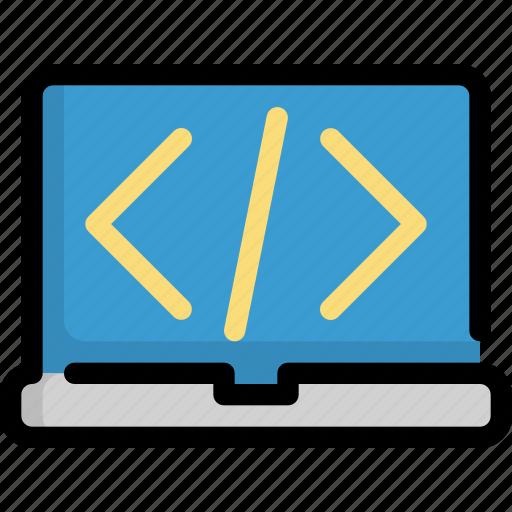 code, coding, internet, programming, web icon